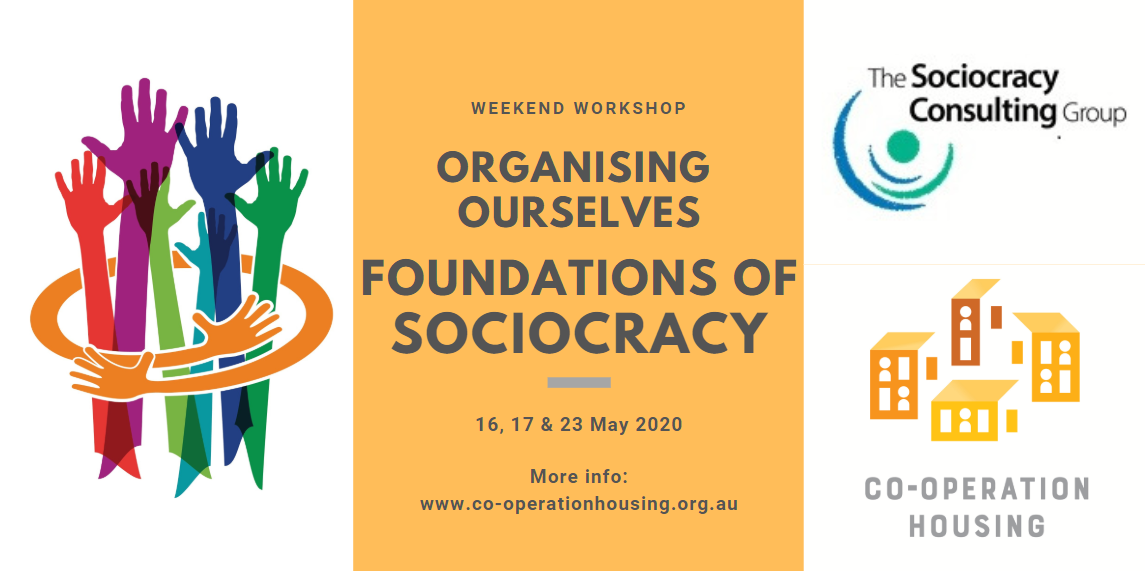 Foundations of Sociocracy - Weekend Workshop (on-line)