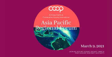 Cooperative Housing Asia Pacific Regional Forum